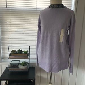 A new day lavender sweater BNWT